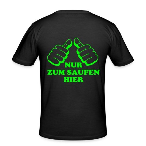 T-Shirt für Party nächte - Männer Slim Fit T-Shirt