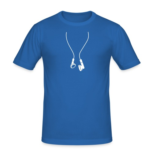 slim fit T-shirt - oordopjes t-shirt,headphone shirts