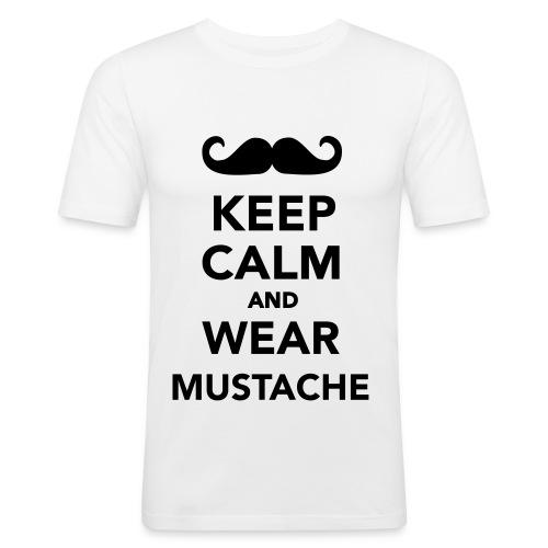 Keep Calm... - Shirt - Männer Slim Fit T-Shirt