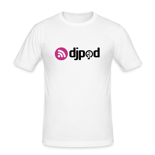 T-Shirt blanc près du corps - T-shirt près du corps Homme