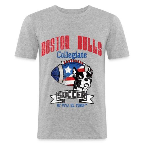 Viva El Toro! Boston Bull Soccer - Men's Slim Fit T-Shirt