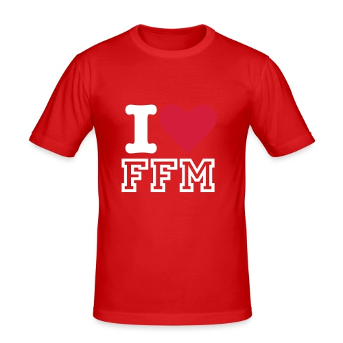 I LOVE OF MALE III - Männer Slim Fit T-Shirt