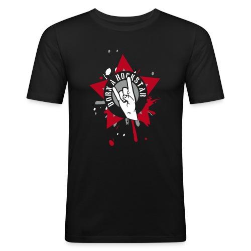 Born A Rockstar - black - slim fit T-shirt