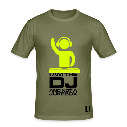 slim fit T-shirt - music,DJ