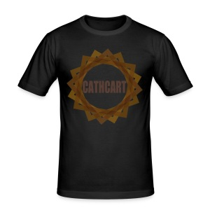 Cathcart Circle - Men's Slim Fit T-Shirt