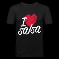 Tee shirts ~ Tee shirt près du corps Homme ~ I love Salsa