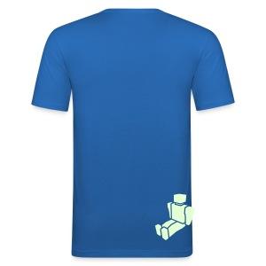 In The Beginning - Men's Slim Fit Dark T-Shirt - Men's Slim Fit T-Shirt