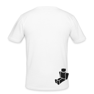 In The Beginning - Men's Slim Fit White T-Shirt - Men's Slim Fit T-Shirt