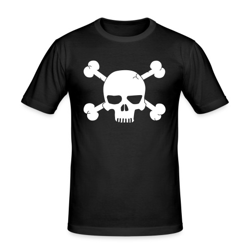 MySkull  - Herre Slim Fit T-Shirt