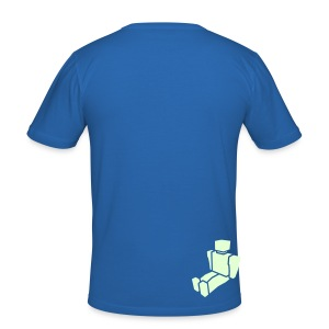 Big Fish - Men's Slim Fit Dark T-Shirt - Men's Slim Fit T-Shirt