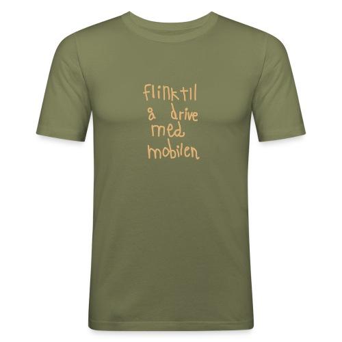 Mobil-o-rama - Slim Fit T-skjorte for menn