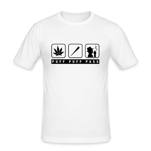 puff puff pass tshirt - Herre Slim Fit T-Shirt