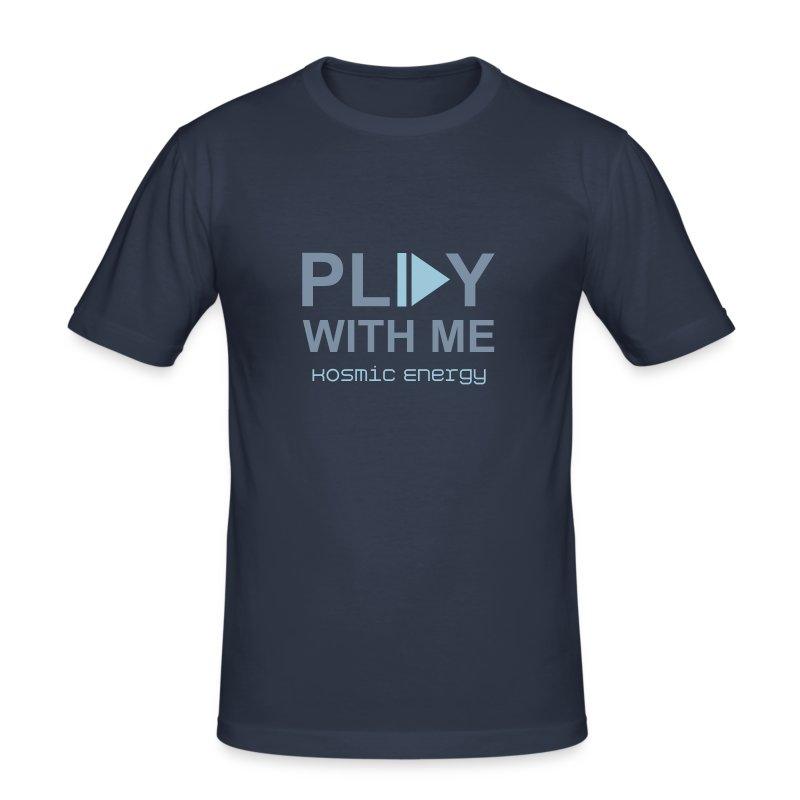 Play with me - Men's Slim Fit T-Shirt