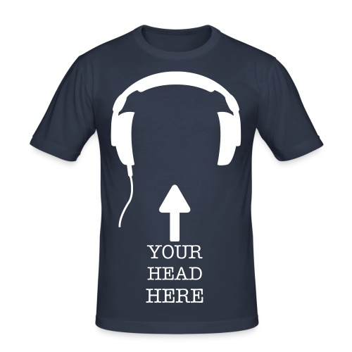 Your Head Here - Men's Slim Fit T-Shirt