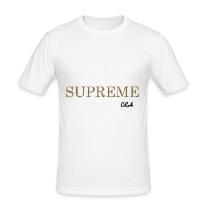 CROWN LUXURY 'SUPREME' T-SHIRT - Men's Slim Fit T-Shirt