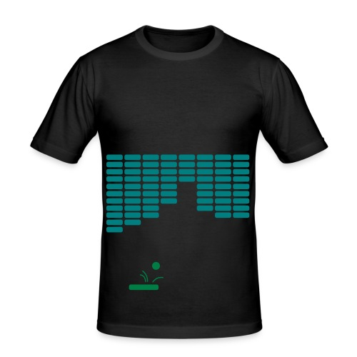 8 Bit Ping Pong - Men's Slim Fit T-Shirt