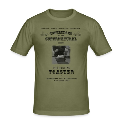The Dancing Toaster (Ghostbusters II) - Men's Slim Fit T-Shirt