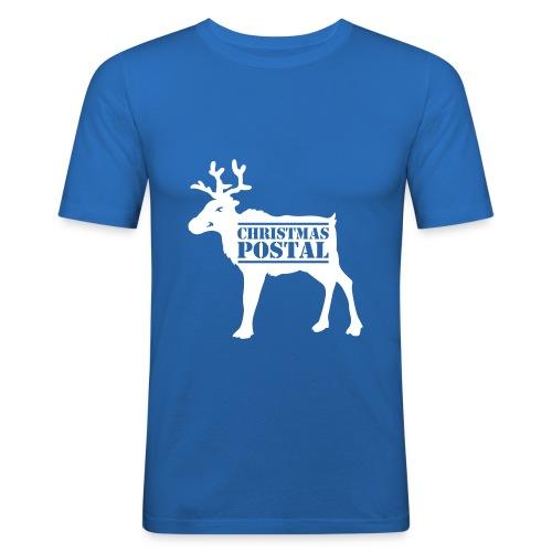 Miesten t-paita  Posti poro  - Miesten tyköistuva t-paita