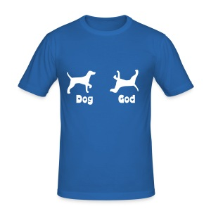 Dog, God - Men's Slim Fit T-Shirt