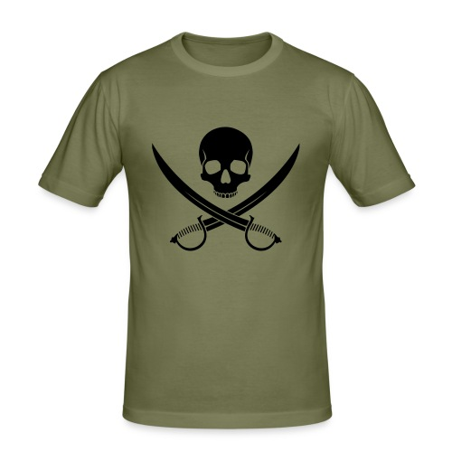 Cutlass - Men's Slim Fit T-Shirt