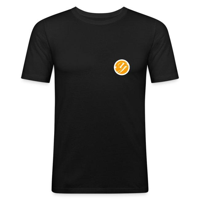 XJ6652 SlimFit-Logoshirt
