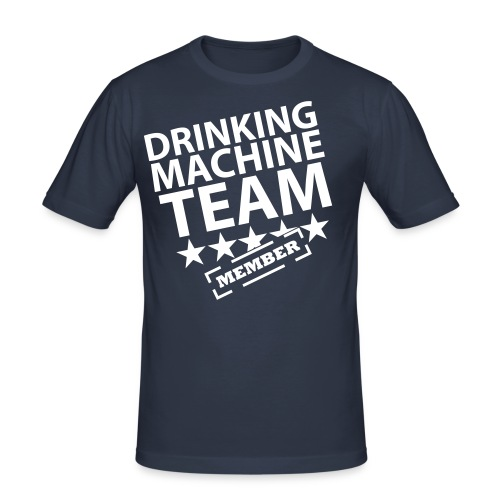 Drinking Team - Men's Slim Fit T-Shirt