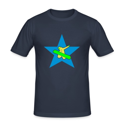Boarderfun - Männer Slim Fit T-Shirt