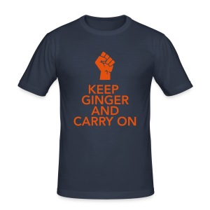 Keep Ginger And Carry On - Men's Slim Fit T-Shirt