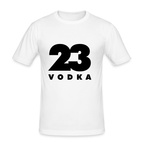 Vodka 23 mens - Männer Slim Fit T-Shirt