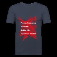 Magliette ~ Maglietta aderente da uomo ~ People