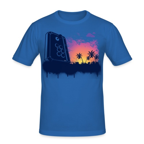 Arcade Beach Gamer  - Men's Slim Fit T-Shirt