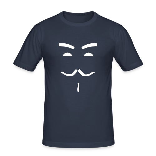 Männer Slim Fit T-Shirt - Guy Fawkes,Anonymous