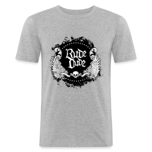 Rude Dude - T-shirt près du corps Homme