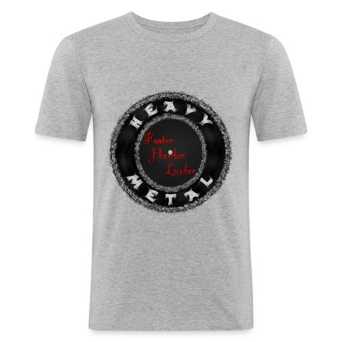 MusaGenret - Miesten tyköistuva t-paita