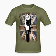Vintage Motor Cycle BSA feature patjila T-Shirts