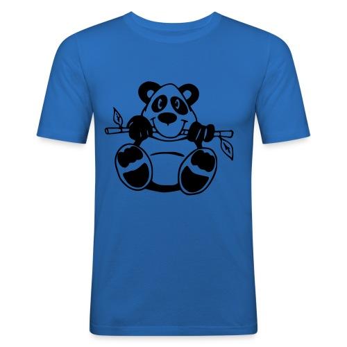 Cute Panda - Männer Slim Fit T-Shirt