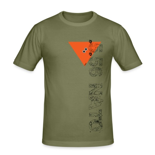 .5.56 NATO VERTICAL noir - T-shirt près du corps Homme