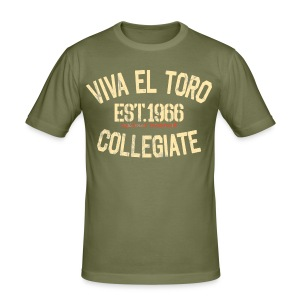 Viva El Toro! Rusty Rags Graphic T Collegiate -  marrone nobile - Men's Slim Fit T-Shirt