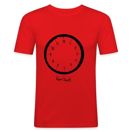 Shirt Timeless - Männer Slim Fit T-Shirt