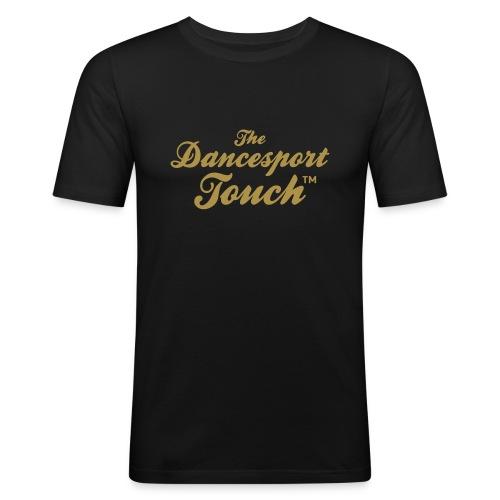 Logo TDT™  Or- T-Shirt H - T-shirt près du corps Homme