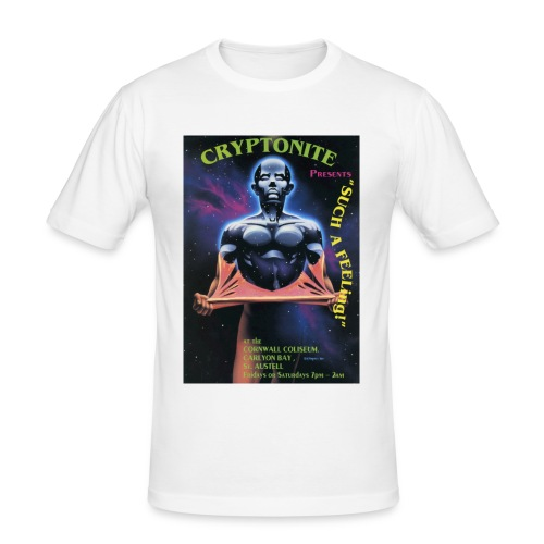 Cryptonite 06/06 - Men's Slim Fit T-Shirt
