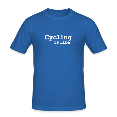 cycling is life T-Shirts