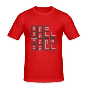 One Wall Handball Contra II - slim fit T-shirt