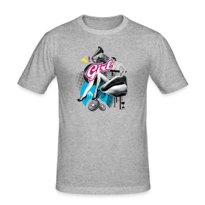 Girl (by VS Creations) - Tee shirt près du corps Homme