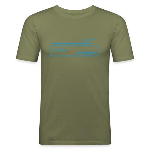 Stuttgart Music T-Shirt  - Männer Slim Fit T-Shirt