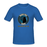 T-Shirts ~ Men's Slim Fit T-Shirt ~ RFS Logo (T-Shirt)
