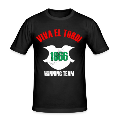 VIVA EL TORO! Winning Team. Maglietta slim con stampa su fronte e retro - Men's Slim Fit T-Shirt