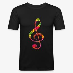 Musique - Men's Slim Fit T-Shirt