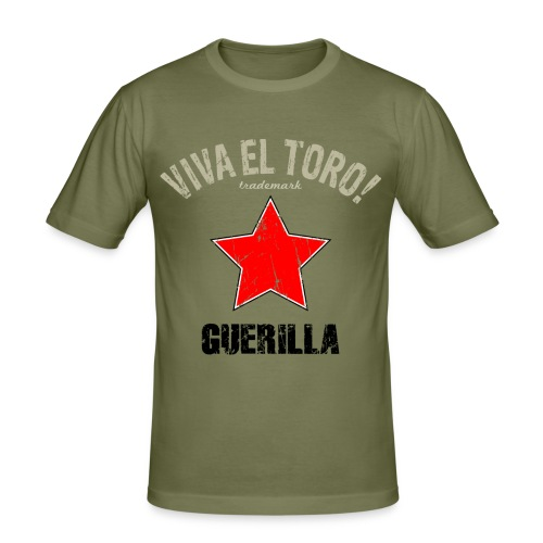 VIVA EL TORO! Guerilla - Men's Slim Fit T-Shirt