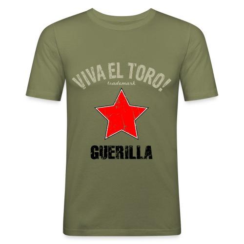 VIVA EL TORO! Guerilla - Maglietta aderente da uomo